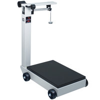Cardinal Detecto 854F50PK 500 lb. / 200 kg. Portable Mechanical Floor Scale, Legal for Trade