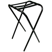Lancaster Table & Seating 36 inch Folding Tray Stand Black Metal