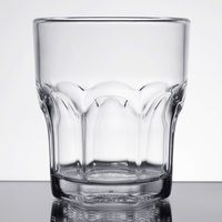 Carlisle 580807 Louis 8 oz. Clear Plastic Rocks Glass - 24/Case