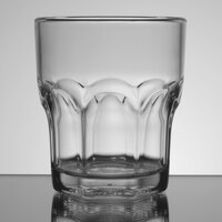 Carlisle 580807 Louis 8 oz. Clear Plastic Rocks Glass - 24/Case