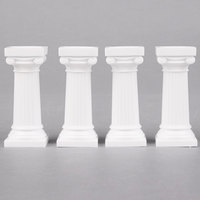 Wilton 303-3606 Grecian Cake Pillars - 3 inch 4 / Pack