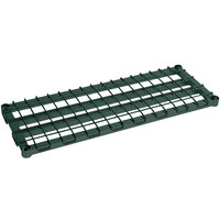 Metro 1824DRK3 24 inch x 18 inch Metroseal 3 Heavy Duty Dunnage Shelf with Wire Mat - 1600 lb. Capacity