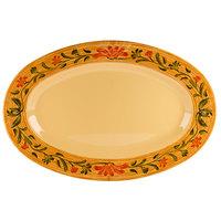 GET OP-618-VN Venetian Oval Platter - 12/Pack