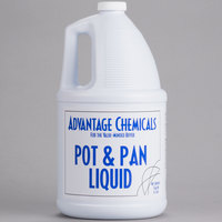 Advantage Chemicals 1 Gallon Pot & Pan Liquid Detergent - 4/Case
