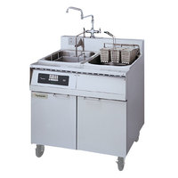 Frymaster 8SMS Pasta Magic Electric Pasta Cooker with Automatic Timed Basket Lifter and Separate Rinse Tank - 208V, 3 Phase, 8 kW