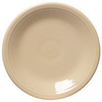 Homer Laughlin 464330 Fiesta Ivory 7 1/4 inch Salad Plate - 12 / Case