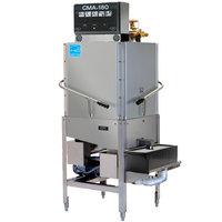CMA Dishmachines CMA-180C Single Rack High Temperature Corner Dishwasher - 208/240V, 1 Phase