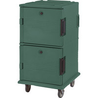 Cambro UPC1600192 Granite Green Camcart Ultra Pan Carrier - Front Load
