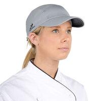 Headsweats 7700-221 Gray Eventure Fabric Customizable Chef Cap