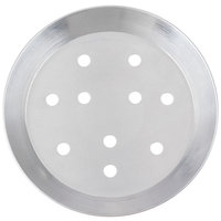 American Metalcraft CAR10P 10 inch Perforated Heavy Weight Aluminum CAR Pizza Pan