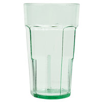 Cambro LT16427 Laguna 16 oz. Spanish Green Customizable Plastic Tumbler - 36/Case