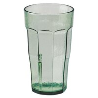 Cambro LT16427 Spanish Green Laguna Customizable Plastic Tumbler 16 oz. - 36/Case
