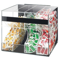 Cal-Mil 866 Acrylic Top Loading Condiment Packet Dispenser
