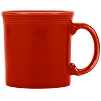Homer Laughlin 570326 Fiesta Scarlet 12 oz. Java Mug - 12/Case