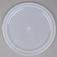 Cambro RFSC12PP190 Translucent Lid for Cambro Translucent 12, 18, and 22 Qt. Round Containers