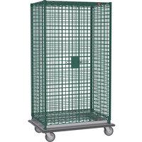 Metro SEC55LK3 Metroseal 3 Mobile Heavy Duty Wire Security Cabinet - 50 1/2 inch x 28 1/16 inch x 68 1/2 inch