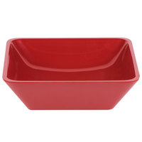 Cal-Mil 1707-10-64 Cranberry 10 inch Square Melamine Bowl