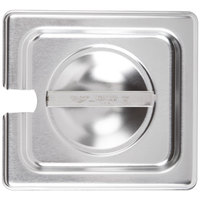 Vollrath 75260 Super Pan V 1/6 Size Slotted Stainless Steel Steam Table / Hotel Pan Cover