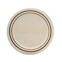7 1/2 inch Beige Arcadia Round Melamine Plate - 12/Case