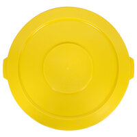 Continental 3201YW 32 Gallon Yellow Huskee Trash Can Lid