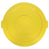 32 Gallon Yellow Trash Can Lid