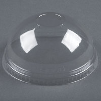 Dart Solo Conex DNR626 Clear PET Dome Lid without Hole - 1000/Case