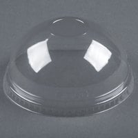 Dart Solo Conex DNR626 Clear PET Dome Lid without Hole 1000 / Case