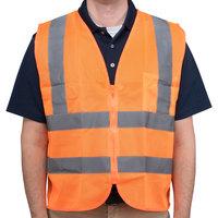 Orange Class 2 High Visibility Safety Vest - Medium
