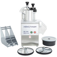 Robot Coupe CL50 Gourmet Continuous Feed Food Processor - 1 1/2 hp