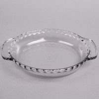 Anchor Hocking 68190FK 9 1/2 inch x 1 5/8 inch Deep Oven Proof Glass Pie Plate