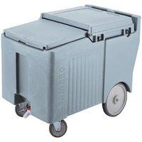 Cambro ICS125LB401 Slate Blue Sliding Lid Portable Ice Bin - 125 lb. Capacity