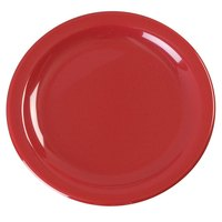 Carlisle KL20405 Kingline 6 1/2 inch Red Pie Plate - 48 / Case