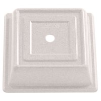 Cambro 85SFVS380 Versa Camcover 8 1/2 inch Ivory Square Plate Cover - 12/Case