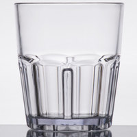 GET 9912-1-CL Bahama 12 oz. Clear Break-Resistant Plastic Tumbler - 72/Case