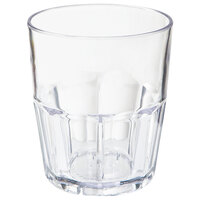 GET 9912-1-CL 12 oz. Clear Break-Resistant Plastic Bahama Tumbler - 72/Case