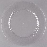 WNA Comet CW9180C Classicware 9 inch Clear Plastic Plate - 18/Pack