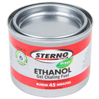 Sterno Products 20106 45 Minute Gel Chafing Dish Fuel Canister - 144/Case