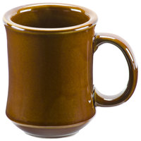 Brown Bell Shaped 7 oz. China Coffee Mug - 36 / Case