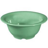 GET B-105-FG Diamond Mardi Gras 10 oz. Rainforest Green Melamine Bowl - 48/Case