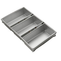 3 Loaf Bread Pan Set 1 lb.
