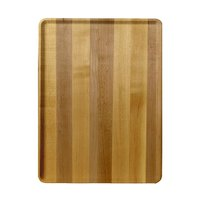Cambro 1520D303 15 inch x 20 inch Light Butcher Block Wood-Look Dietary Tray - 12/Case