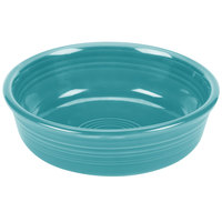 Homer Laughlin 460107 Fiesta Turquoise 14.25 oz. Nappy Bowl - 12/Case