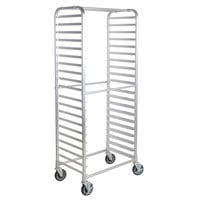 Regency 20 Pan Side Load Bun / Sheet Pan Rack - Unassembled