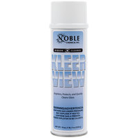 Noble Chemical Kleer View Glass / Window Cleaner - Aerosol 19 oz. 12 / Case (AMR A123)