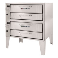 Bakers Pride 4152 Liquid Propane Pizza Deck Oven Double Deck 54 inch