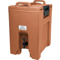 Cambro UC1000157 Coffee Beige Ultra Camtainer 10.5 Gallon Insulated Beverage Dispenser