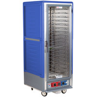 Metro C539-CFC-U-BU C5 3 Series Heated Holding and Proofing Cabinet with Clear Door - Blue