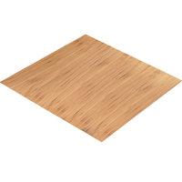 Cal-Mil 1435-2424-60 Bamboo 24 inch Square Riser Shelf