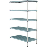 Metro 5AQ577G3 MetroMax Q Shelving Add On Unit - 24 inch x 72 inch x 74 inch