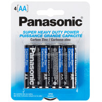 Panasonic AA Super Heavy Duty Battery - 4/Pack